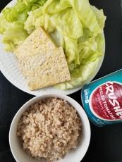 Simple ingredients make a tasty dinner.